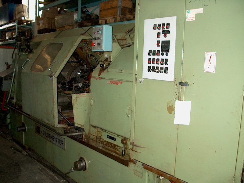 Lot 16 - Gildemeister Model F.A.T. AS 67-6, 6-Spindle Automatic Lathe