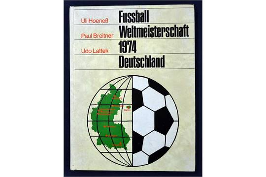 Unique 1974 Germany World Cup Book Published By Sigloch Hb