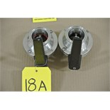 """Lot 18A - 2"""" S/S Butterfly Valves Rigging Fee $ 15"""