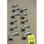 "Lot 23A - 1 1/2"" S/S Elbows Rigging Fee $ 15"
