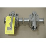 "Lot 7 - Koltek 2"" 3-Way S/S Plug Valves Rigging Fee $ 15"