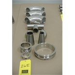 Lot 26E - Assorted S/S Weld Fittings Rigging Fee $ 15