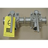 "Lot 6 - Koltek 2"" 3-Way S/S Plug Valves Rigging Fee $ 15"