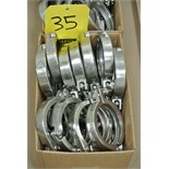 "Lot 35 - 3"" S/S Clamps Rigging Fee $ 15"