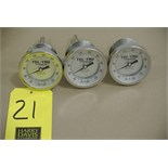 Lot 21 - Tel-Tru S/S Thermometers, Clamp Type Rigging Fee $ 15