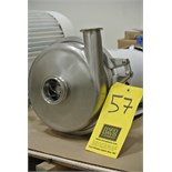 Lot 57 - Waukesha Cherry Burrell Centrifugal Pump Model 2065LV with Baldor 2 HP 1,750 RPM Washdown Motor