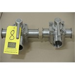 "Lot 8 - Koltek 2"" 3-Way S/S Plug Valves Rigging Fee $ 15"