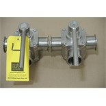 "Lot 4 - Koltek 2"" 3-Way S/S Plug Valves Rigging Fee $ 15"