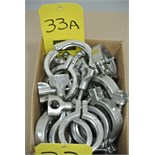 "Lot 33A - 2"" S/S Clamps Rigging Fee $ 15"