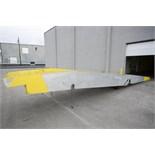 Lot 218 - Magliner 16,000 LB Capacity Mobile Dock Lift Ramp Model ME-16-70-36-6L Rigging Fee $ 200
