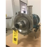 Lot 1 - Fristam Centrifugal Pump Model FPX742-180 : SN 742170357, with 3 HP 3,500 RPM Motor, Mounted on S/