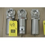 "Lot 49 - 2"" S/S Air-Actuated Butterfly Valves Rigging Fee $ 15"
