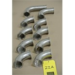 "Lot 22A - 2"" S/S Elbows Rigging Fee $ 15"
