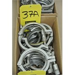 "Lot 37A - 4"" S/S Clamps Rigging Fee $ 15"