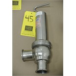 "Lot 45 - Definox 2"" S/S Pressure Overflow Valve Rigging Fee $ 15"