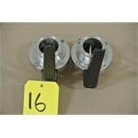 "Lot 16 - 2"" S/S Butterfly Valves Rigging Fee $ 15"