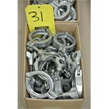 """Lot 31 - 2"""" S/S Clamps Rigging Fee $ 15"""