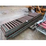 Rapistan Roller Conveyor 550 x 5 Sections 3m each