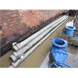 3 Galvanised Irrigation Pipes