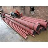 9 x PAM Integral Biozinalion DN300 Steel Ductile C