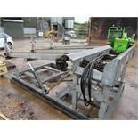 Binder Berger Hydraulic Log Deck 3.1x2m, 3 Chain