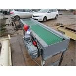Game Conveyor Belt 350x1700mm 415v
