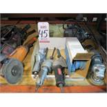 LOT - (3) AUTOFILES, W/ BOX OF 60 GRIT BELTS