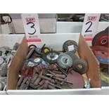 LOT - MISC ABRASIVE WHEELS/BLADES