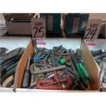 LOT - ALLEN WRENCHES AND ASSORTED HAND TOOLS