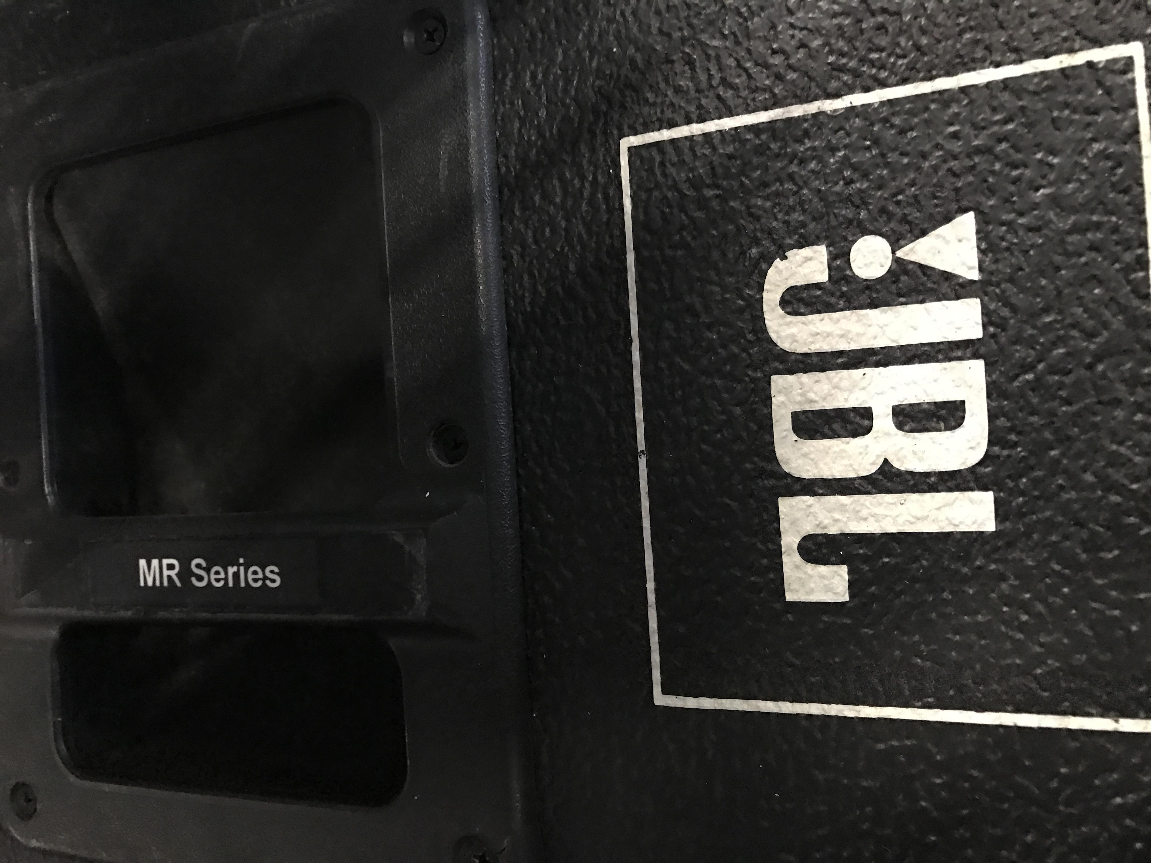 set of 2 jbl mr series speakers mod mr822. Black Bedroom Furniture Sets. Home Design Ideas