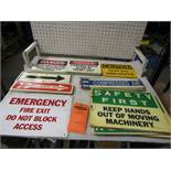Lot of Assorted Signs