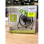 "1 LOT TO CONTAIN 3 BOXED FINE ELEMENTS 4"" USB DESK FAN / RRP £14.97 (PUBLIC VIEWING AVAILABLE"