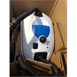 1 BOXED DUPRAY STEAM CLEANER IN WHITE / RRP £144.99 (PUBLIC VIEWING AVAILABLE)