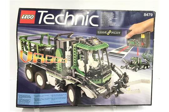 Lego Technic 8479 Barcode Truck Set With Instructions And Code Card