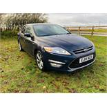 (RESERVE MET) Ford Mondeo Titanium X 2.0 TDCi - 2014 14 Reg - Full Leather - Sat Nav - Top Spec