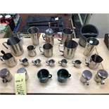 Lot d'accessoires a cafe (23) mrcx approx