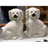 Pair of pot dogs