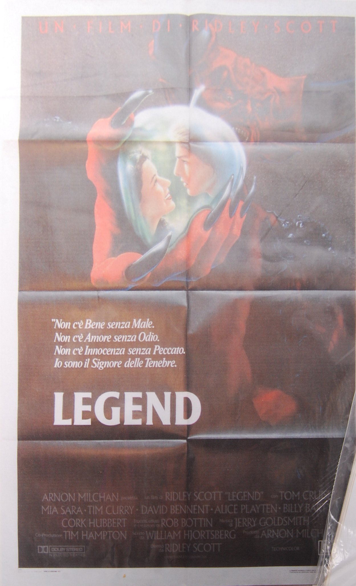 Lot 57 - TWO ITALIAN 1980'S MOVIE CINEMA ADVERTISING FILM POSTER