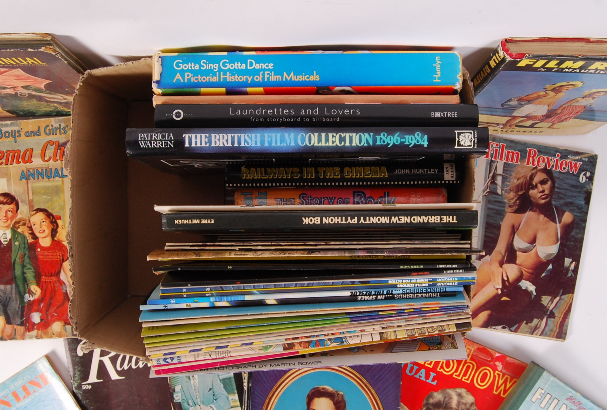 Lot 37 - FILM & TV RELATED BOOKS, MAGAZINES & PUBLICATIONS