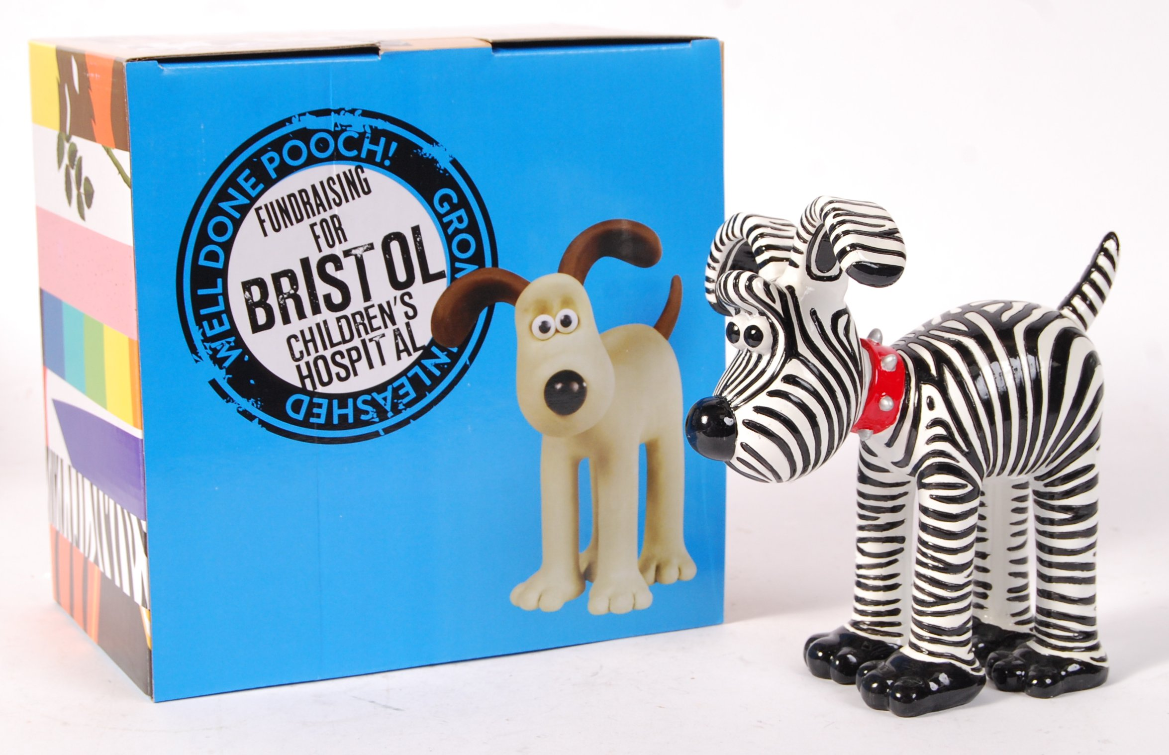 Lot 49 - GROMIT UNLEASHED FIGURINE ' GRANTS GROMIT ' BOXED