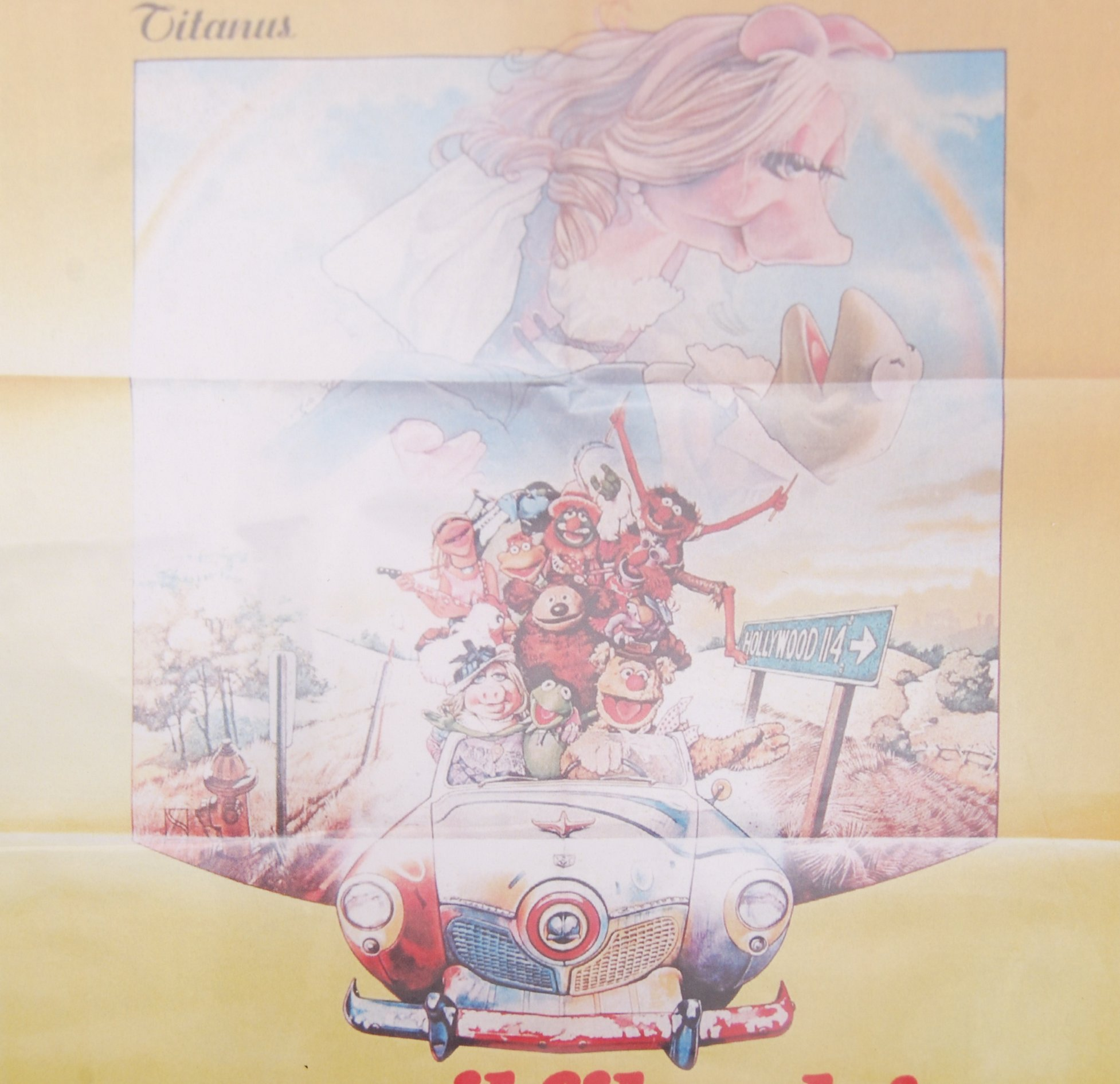Lot 29 - THE MUPPETS MOVIE (1979) ITALIAN MOVIE ADVERTISING FILM POSTER