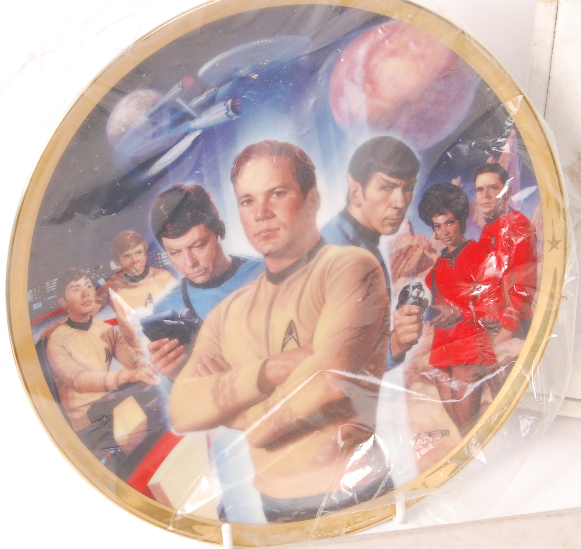Lot 56 - COLLECTION OF ' HAMILTON COLLECTION ' STAR TREK COLLECTOR'S PLATES