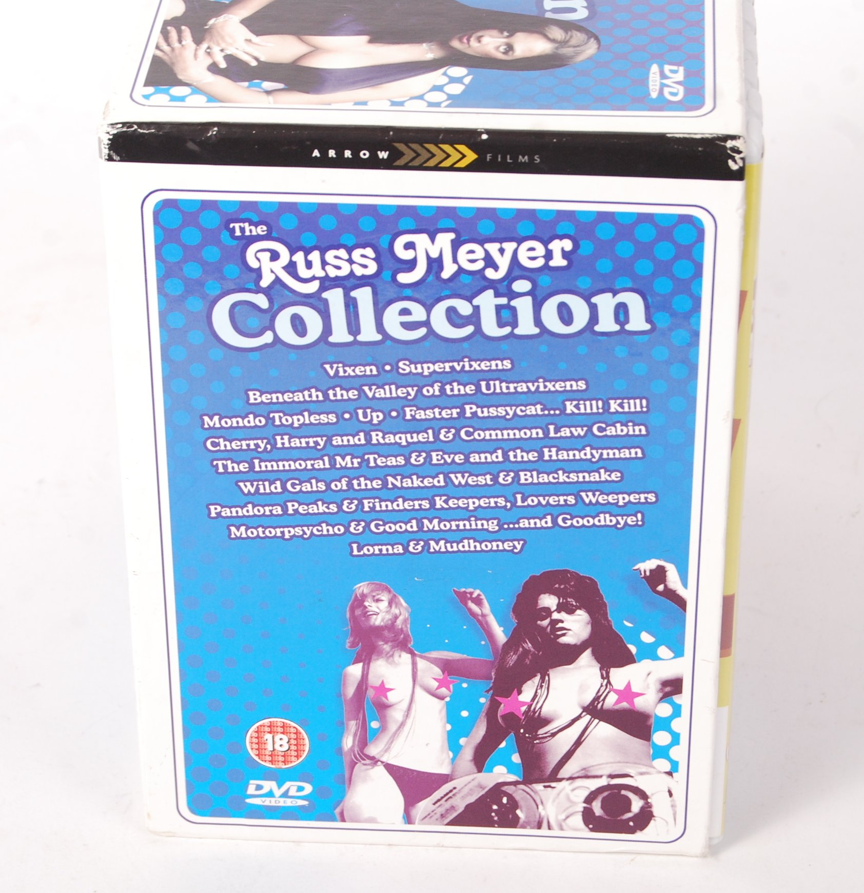 Lot 33 - THE RUSS MEYER COLLECTION - 18 DVD BOXED SET
