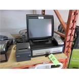 PAR Everserv 500 POS Terminal w Dell Optiplex 3020 base, Epson M244A thermal printer, Verifone VX520