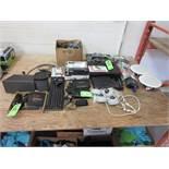 Lot 2 Sonos speakers, Truvision NUR-10S Receiver, Atlas Sound PA609 amp, cameras, monoprice 8 port e