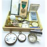 Pocket watches, lighters, etc.