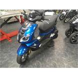 Peugeot Speedfight 4 125 LC R-Cup moped, Registration number: AU69 VBK (no V5 held), Date of