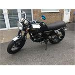Mash Black 7 125 motorcycle, Unregistered and no certificate of conformity held, VIN: