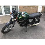 SWM Gran Turismo 440 motorcycle, Unregistered and no certificate of conformity held, VIN: