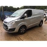 Ford Transit Custom 290 Limited, 3 ton gvw, 1995cc van, Registration No. BJ17 FNS, First registered:
